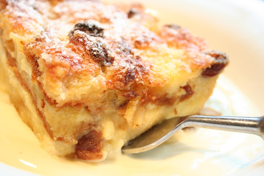 Panettone Bread & Butter Pudding with Mascarpone Custard | Guy Awford