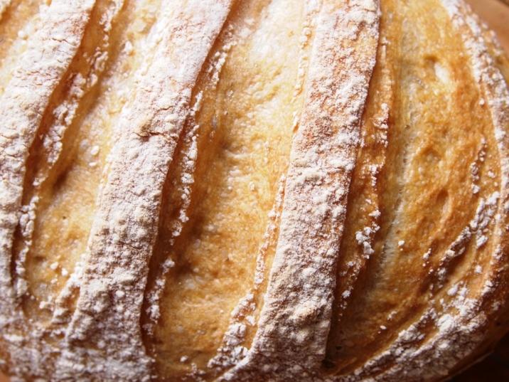 Perfect golden crust