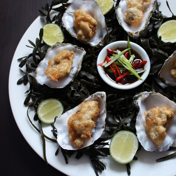 Tempura Oysters (6)